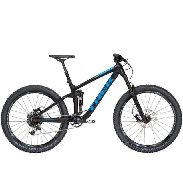 Velo VTT Trail TS-Trek Remedy 7 27.5 (MY18)- Noir Matt Bleu