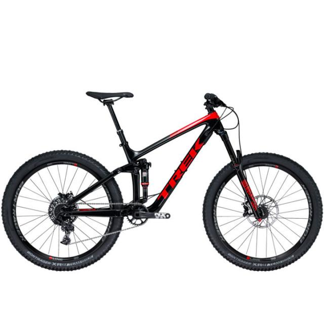 Velo VTT Trail TS-Remedy 9.7 27.5 (MY18)Carbone- Noir Viper Rouge