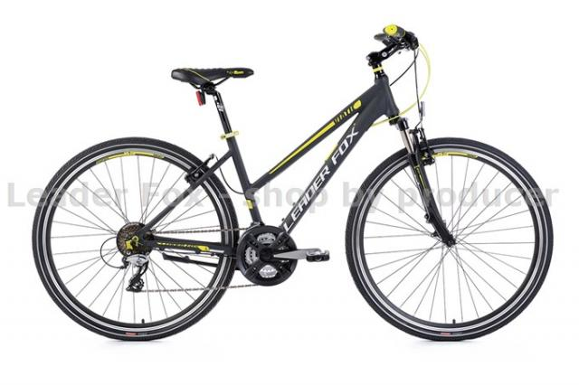 Velo Tout Chemin, VTC-Leader Fox VIATIC Lady 28\'\' -2017- Grey matt Jaun